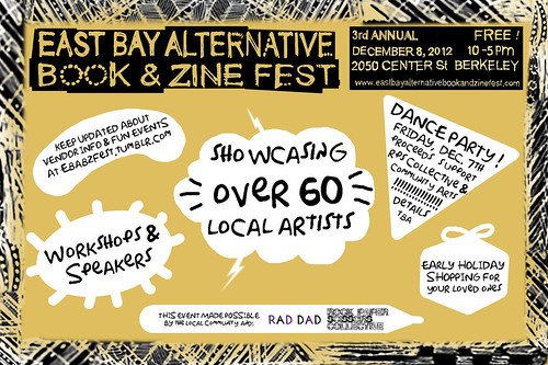 The 3rd Annual East Bay Alternative Book & Zine Fest (EBABZ)