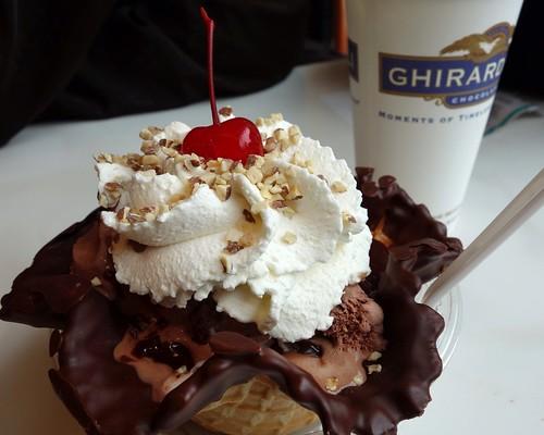 Choclit sundae