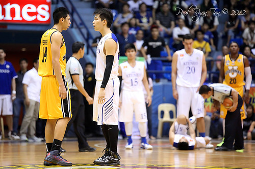 PCCL 2012 Finals Game 2: Ateneo Blue Eagles vs. UST Growling Tiger, Nov. 30