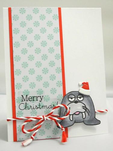 Christmas Walrus