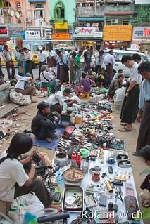 Yangon - Flea Market