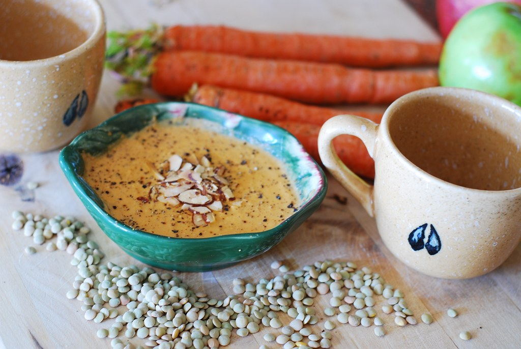 Carrot and lentil soup | Flickr - Photo Sharing!