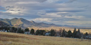 The Foothills of Boulder, CO in Fall