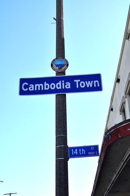 Cambodia Town, Long Beach, CA