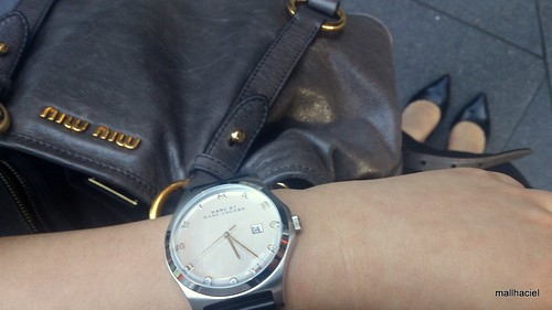 Today I'm wearing Marc by Marc Jacobs Ladies Henry Watch