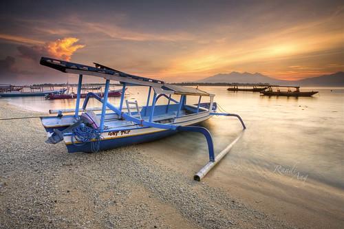 trip seascape beach sunrise canon indonesia landscape island eos boat asia south east 5d ang gili lombok randi trawangan