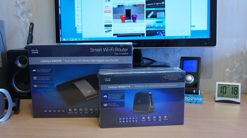 Linksys EA6500   spartusis Cisco WiFi AC routeris
