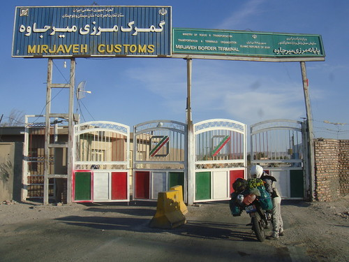 Iran/Mirjaveh border to Pakistan