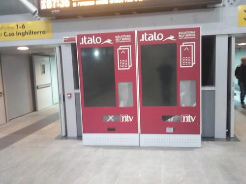 Italo a Porta Susa