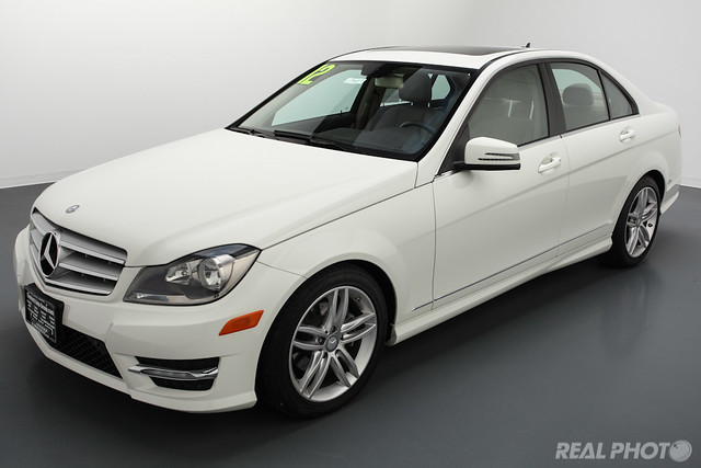 2012 mercedes benz c300 white flickr photo sharing. Black Bedroom Furniture Sets. Home Design Ideas