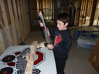 P1050503Isaac working on science project