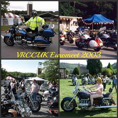 Collage euromeet 2003