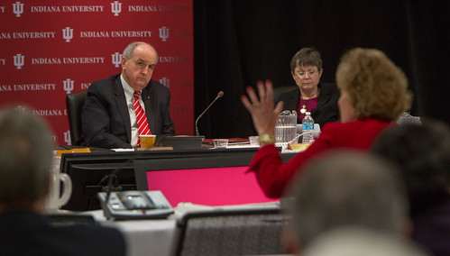 Susan Sciame-Giesecke's campus update to IU Trustees
