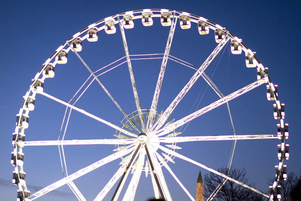 The Grand Roue at Place de la Concorde in Paris