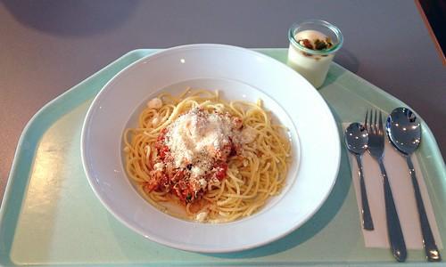 """Spaghetti """"al pollo"""""""