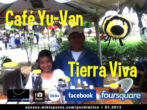 New sign: Café Yu-Van