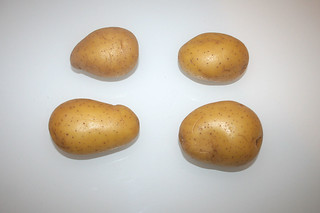 01 - Zutat Kartoffeln / Ingredient potatoes