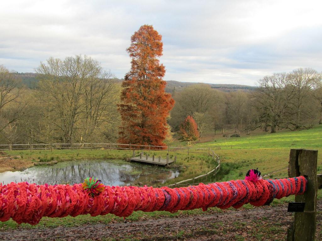 Yarn Bombing, Nymans Gardens