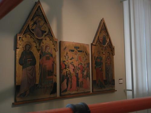 DSCN3296 _ Crocifissione di Cristo, Jacopo di Paolo, 1400-10 - to expande title
