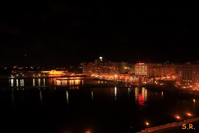 San Juan bei Nacht :-)