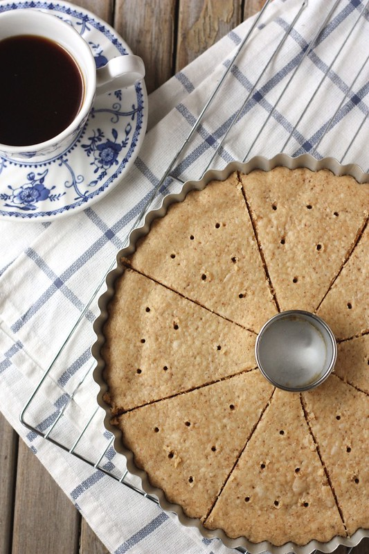Brown Butter Shortbread