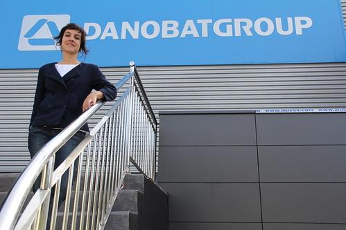 Idoia Bustinduy, responsable de Comunicación de DANOBATGROUP.
