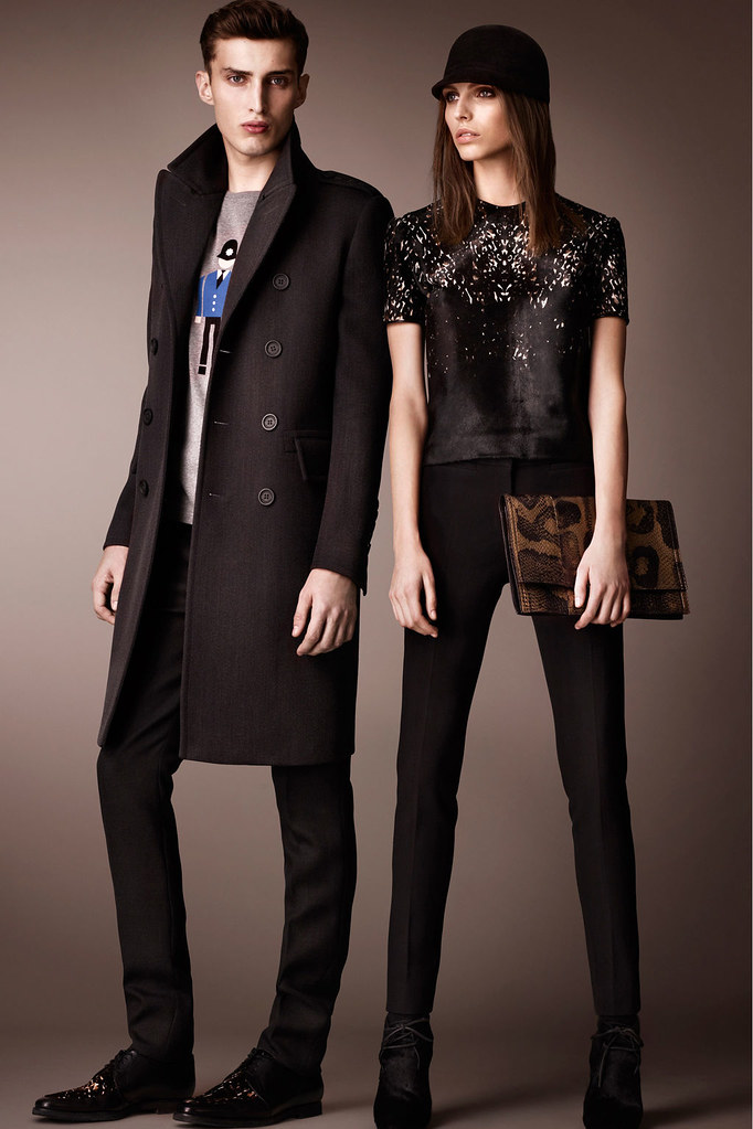 Charlie France0288_Burberry Prorsum's Pre-Fall 2013 Collection(Homme Model)