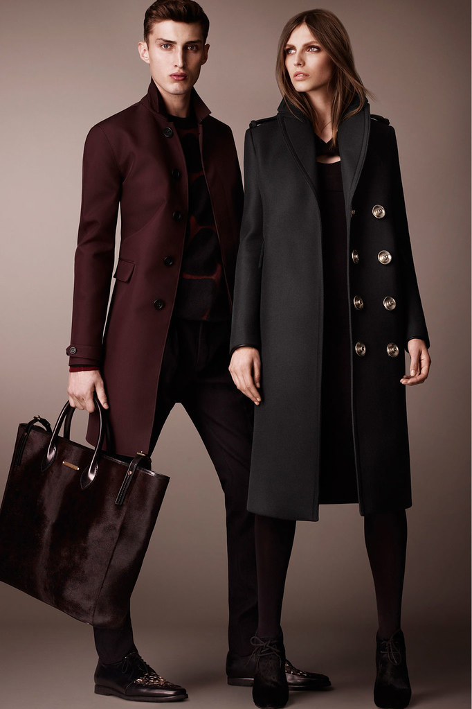 Charlie France0300_Burberry Prorsum's Pre-Fall 2013 Collection(Homme Model)