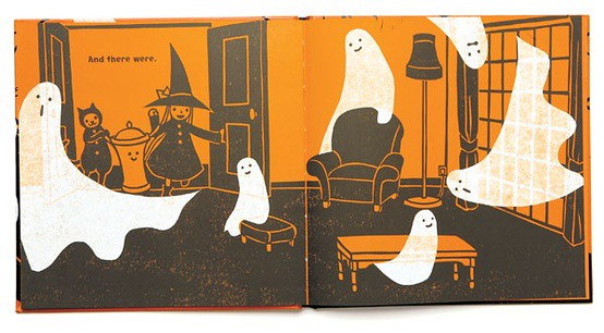 art in cambridge Kazuno Kohara, Ghosts (illustrated children's book)