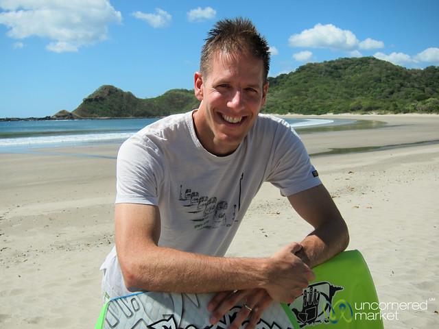 Dan the Boogie Boarding Master - Morgan's Rock, Nicaragua
