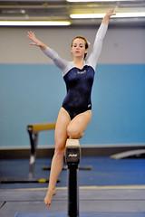floor gymnastics(0.0), uneven bars(0.0), rings(0.0), balance beam(1.0), sports(1.0), gymnastics(1.0), gymnast(1.0), artistic gymnastics(1.0),