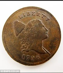 Mark Hillary 1796 half cent obv