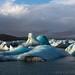 Sun on Icebergs in Jökulsárlon Lagoon by Sophie Carr Photography
