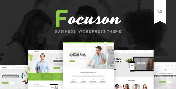 Focuson v1.5 – Business WordPress Theme