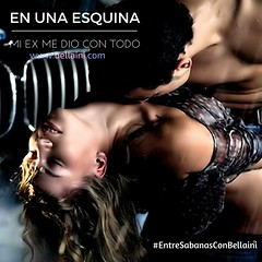 """Entre Sábanas"" con @Bellaini: ¡En una esquina, mi ex me dio con todo! https://t.co/Q0heR6lQ7c #acn August 30, 2016 at 12:29AM"