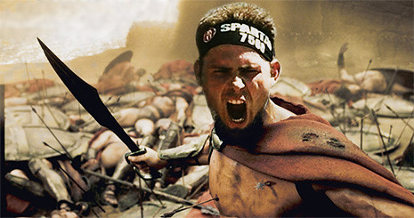 Brave Timmyboy and the 300