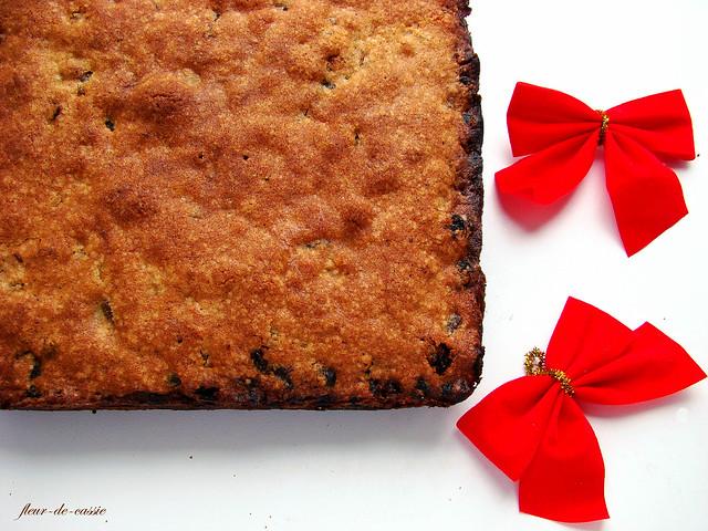 рождественский фруктовый кекс 2