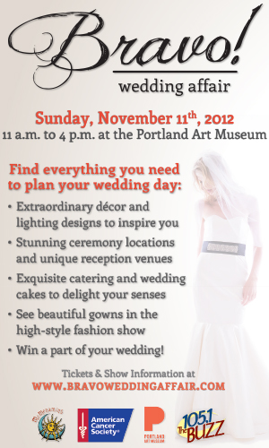 Bravo! Wedding Affair @ Portland Art Museum
