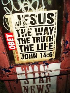 OBEY / JESUS