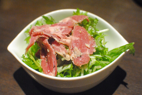 beef tongue salad