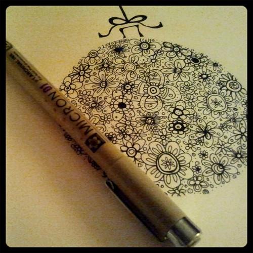 doodle ornament 1