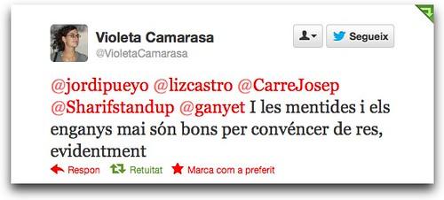Twitter / VioletaCamarasa: @jordipueyo @lizcastro ...