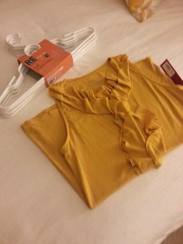 target mustard shirt