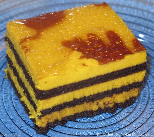 Trader Joe's Pumpkin Mousse Cake