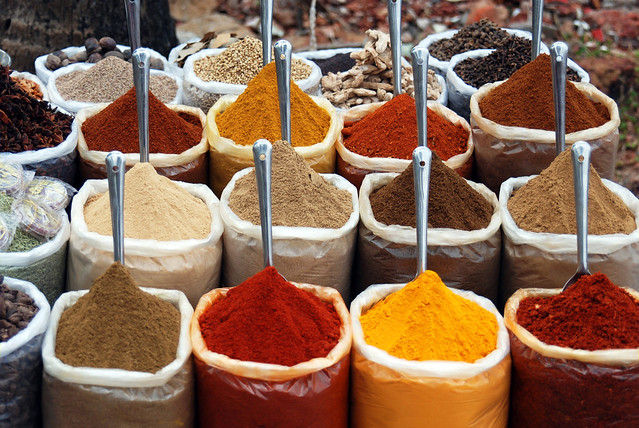 powdered spices color control