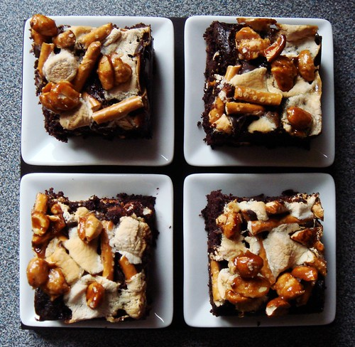 Grown Up Rocky Road Squares
