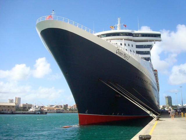 Queen Mary 2 en Las Palmas. QM2