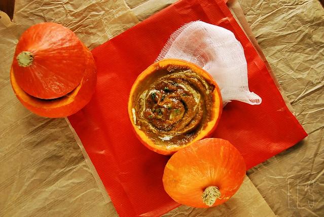 Soupe de potimarron et carotte