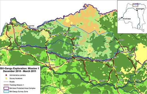 Map of Bili-Gangu area