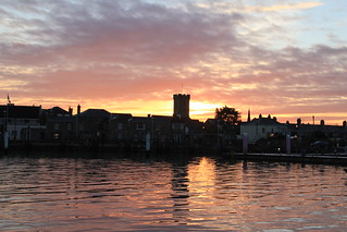 Sunrise over Yarmouth